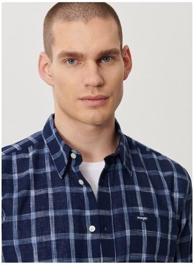 Wrangler Wrangler W5A11KX50_Uzun Kollu Gömlek  Mavi